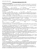 Đề cương ôn tập HK2 Vật lý 11 (cơ bản) - THPT Lê Hồng Phong