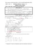 Chuyên đề 4: Phương pháp giải bài tập về Hiđrocacbon thơm - GV.Nguyễn Minh Tuấn