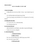 Giáo án Tin học 6 bài 19: Tìm kiếm và thay thế