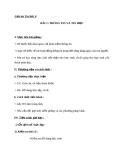 Giáo án Tin học 6 bài 1: Thông tin và tin học