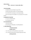 Giáo án bài 21: Trình bày cô đọng bằng bảng - Tin học 6 - GV.Ng.P.Hùng
