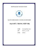 Tiểu luận Đạo đức trong tiếp thị - ĐH Ngân hàng TP.HCM