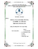 Phong cách lãnh đạo của ông Lê Phước Vũ - Chủ tịch tập đoàn Tôn Hoa Sen