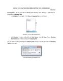 Review cách chụp màn hình bằng Snipping tool của Windows