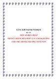 SKKN: Một số biện pháp phòng chống béo phì và suy dinh dưỡng cho trẻ trong trường mầm non
