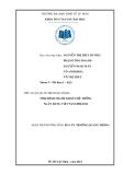 Tiểu luận: Tình hình thanh khoản hệ thống ngân hàng Việt Nam 2008 - 2012