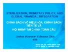 Thuyết trình: Chính sách vô hiệu hóa, chính sách tiền tệ và hội nhập tài chính toàn cầu