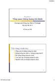 Bài giảng Tài chính phát triển: Bài 5  - Đỗ Thiên Anh Tuấn