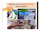 Thuyết trình: Các sản phẩm thẻ và tiện ích của thẻ nội địa