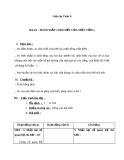 Giáo án Số học 6 chương 1 bài 10: Tính chất chia hết của một tổng