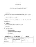 Giáo án Số học 6 chương 1 bài 8: Chia hai lũy thừa cùng cơ số
