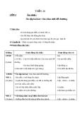 Giáo án Âm nhạc 2 bài 24: Ôn tập hát Chú chim nhỏ dễ thương