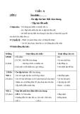 Giáo án Âm nhạc 2 bài 31: Ôn tập hát Bắc kim thang