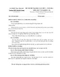Đề thi thử Đại học lần 1 môn Ngữ văn khối C (2014) - Trường THPT Hai Bà Trưng