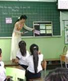 Đề tài: Sử dụng SGK như là một phương tiện dạy học tích cực