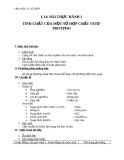 Giáo án Hóa học 11 bài 14: Bài thực hành 2 - Tình chất của một số hợp chất nito, photpho