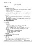 Giáo án Hóa học 11 bài 15: Cacbon
