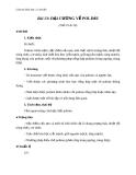 Giáo án Hóa học 12 bài 13: Đại cương về polime