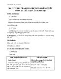 Giáo án Hóa học 12 bài 17: Vị trí của kim loại trong bảng tuần hoàn và cấu tạo của kim loại