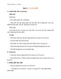 Giáo án Hóa học 12 bài 5: Glucozơ