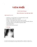 Viêm phổi - ThS. BS. Trần Thị Tố Quyên