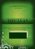 Tiểu luận: Những rủi ro trong phương thức thanh toán tín dụng thư L/C và các biện pháp phòng tránh