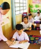 Biện pháp quản lý nhằm nâng cao chất lượng Giáo dục học sinh Tiểu học trong nhà trường
