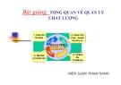 Bài giảng Tổng quan về quản lý chất lượng