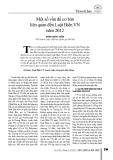Một số vấn đề cơ bản liên quan đến Luật Biển VN năm 2012 - Bành Quốc Tuấn