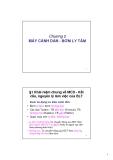 Bài giảng Máy thủy khí - Chương 2: Máy cánh dẫn - bơm ly tâm