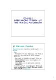 Bài giảng Máy thủy khí - Chương 5: Bơm và động cơ thủy lực thể tích kiểu Piston - roto