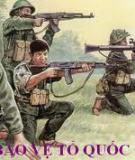Bảo vệ tổ quốc xã hội chủ nghĩa