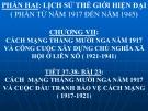 Bài giảng Lịch sử 11 bài 23: Phong trào yêu nước và cách mạng ở Việt Nam từ đầu thế kỷ XX đến Chiến tranh thế giới thứ nhất (1914)