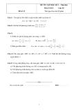 4 Đề ôn tập học kì 2 Toán 10 (Kèm đáp án)