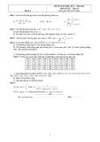 2 Đề ôn tập học kì 2 Toán 10 (Kèm đáp án)