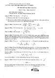 Đề thi thử Đại học môn Toán 2014 khối A,A1 - THPT Chuyên KHTN