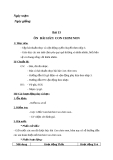 Giáo án bài 13: Ôn tập hát: Con chim non - Âm nhạc 3 - GV:Bích Huân