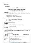 Giáo án bài 23: Giới thiệu về một số hình nốt nhạc - Âm nhạc 3 - GV:Bích Huân