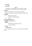 Giáo án bài 29: Tập viết các nốt nhạc trên khuông nhạc - Âm nhạc 3 - GV:Bích Huân