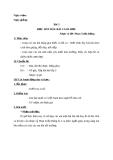 Giáo án bài 3: Học hát: Bài ca đi học - Âm nhạc 3 - GV:Bích Huân