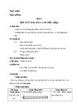 Giáo án Âm nhạc 3 bài 4: Học hát: Bài ca đi học (tiếp theo)