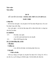 Giáo án bài 30: Kể chuyện âm nhạc: Chàng OócPhê và cây đàn Lia - Âm nhạc 3 - GV:Bích Huân
