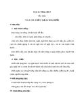 Bài Tập đọc: Vua tàu thủy Bạch Thái Bưởi - Giáo án Tiếng việt 4 - GV.N.Phương Hà