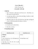 Bài Chính tả: Cánh diều tuổi thơ, phân biệt tr/ch - Giáo án Tiếng việt 4 - GV.N.Phương Hà