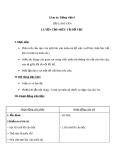 Bài TLV: Luyện tập miêu tả đồ vật (Tuần 15) - Giáo án Tiếng việt 4 - GV.N.Phương Hà