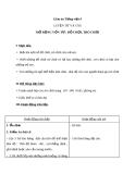 Bài Luyện từ và câu: Mở rộng vốn từ: Đồ chơi: Trò chơi - Giáo án Tiếng việt 4 - GV.N.Phương Hà