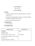 Bài Tập làm văn: Quan sát đồ vật - Giáo án Tiếng việt 4 - GV.N.Phương Hà