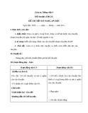 Giáo án Tiếng Việt 4 tuần 20 bài: Kể chuyển - Kể chuyện đã nghe, đã đọc