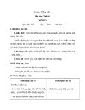 Giáo án Tiếng việt 4 tuần 22 bài: Chợ tết