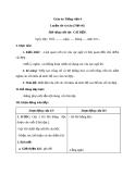 Bài Luyện từ và câu: Mở rộng vốn từ: Cái đẹp - Giáo án Tiếng việt 4 - GV.N.Phương Hà